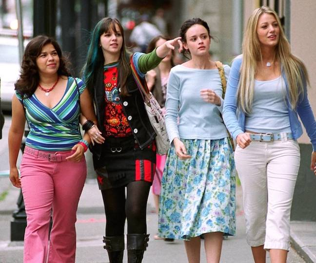 The flick stars Amber Tamblyn, America Ferrera, Blake Lively and Alexis Bledel (Credit: Warner Bros. Pictures)