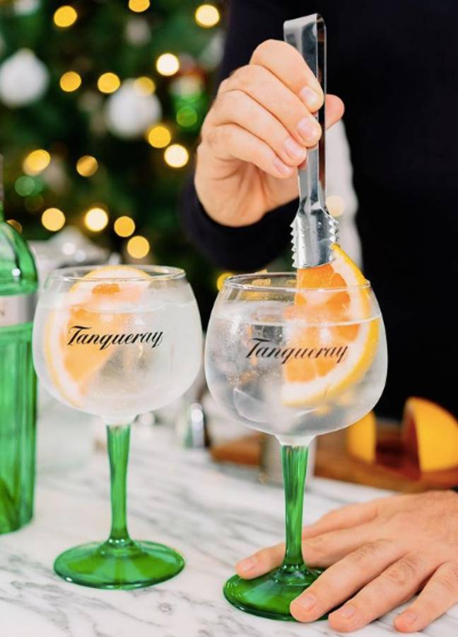 Same taste without the booze? No problem (Credit: Tanqueray)