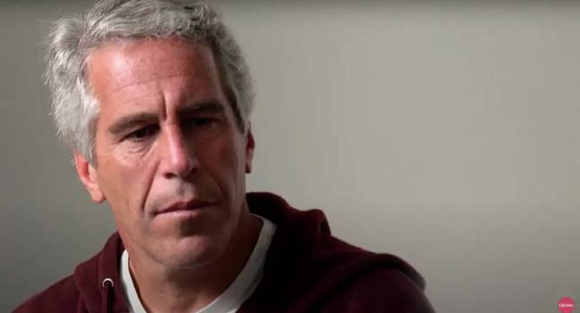 Epstein died in prison last year (Credit: Lifetime)
