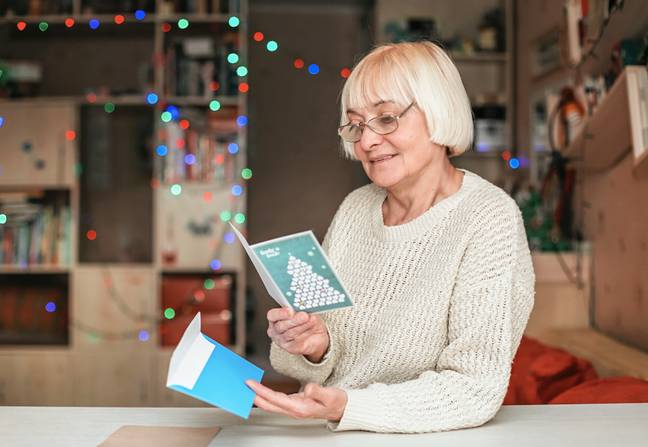 The project sends cards to the elderly and those who need a pick me up (Credit: Shutterstock)
