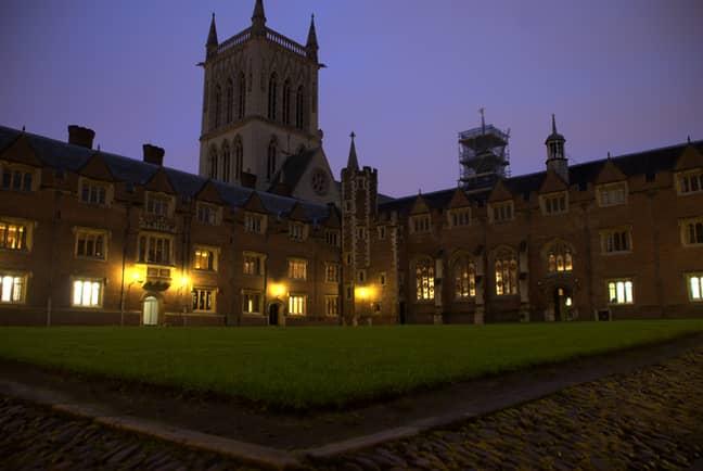 It's set at Cambridge University (Credit: Wikimedia)