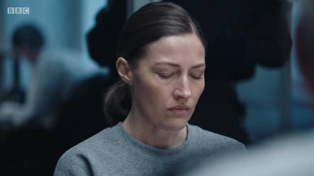 Joanna Davidson tests AC-12's patience (Credit: BBC)