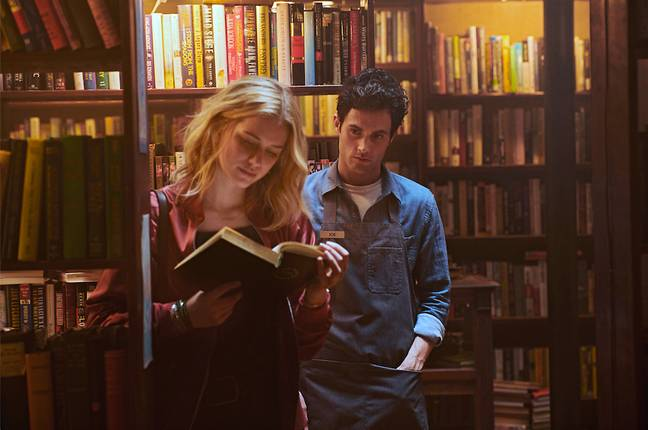 Season 2 will not see Joe in his New York book store any longer as the show will move to LA. (Credit: Netflix)