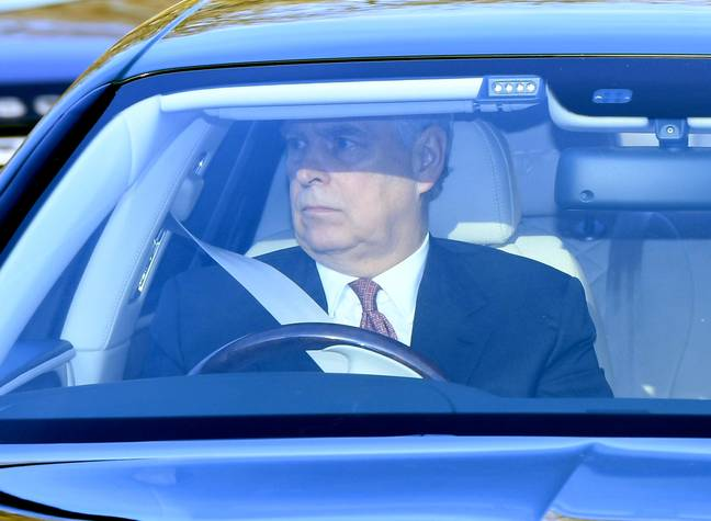 Prince Andrew was forced to step down from royal duties last year (Credit: PA)