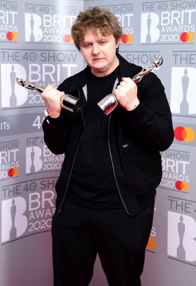 The Scot took home two gongs for Best New Artist and Song of the Year (Credit: PA)