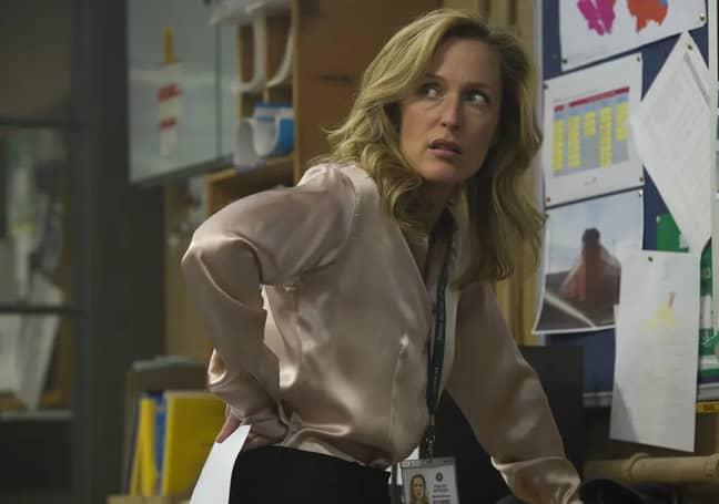 Gillian Anderson stars as Detective Superintendent Stella Gibson (Credit: BBC)