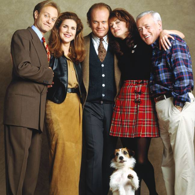 It is not yet confirmed who else is joining the Frasier reboot (Credit: CBS)