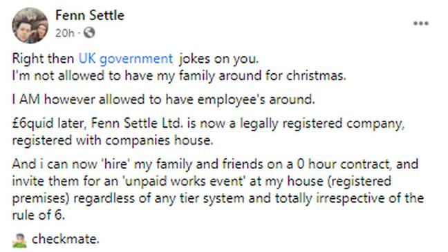 Fenn Settle is now an account manager (Credit: Kennedy)