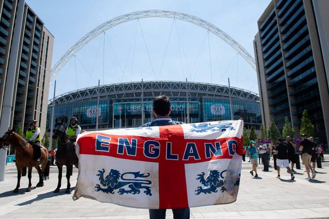 A study found that the risk of domestic abuse increased when the England team lost (Credit: Shutterstock)