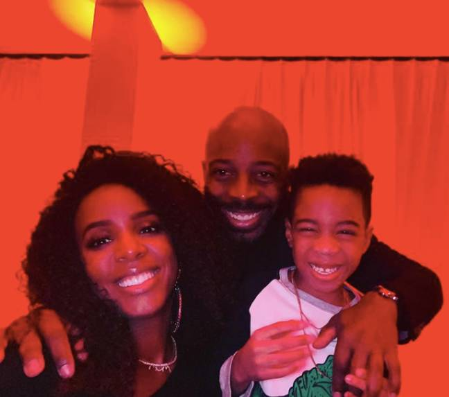 Kelly and Tim Weatherspoon are already parents to six year old Titan (Credit: Instagram/ Kelly Rowland)