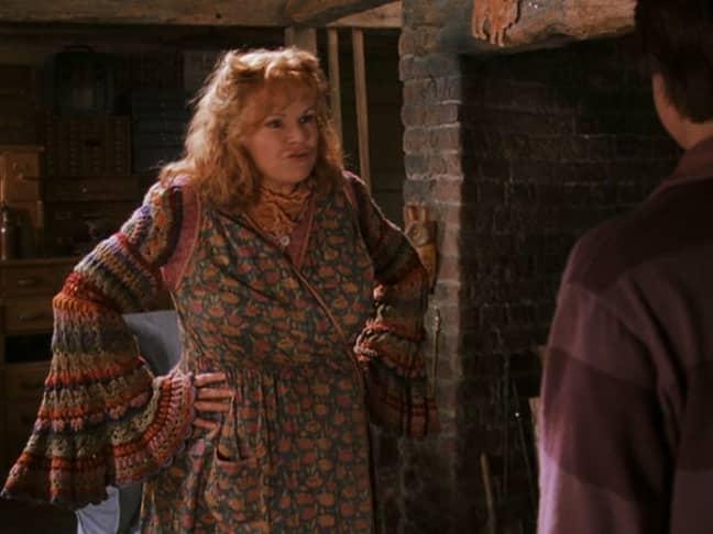 Bless Mrs Weasley! (Credit: Warner Bros)