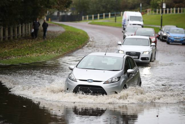 There are weather warnings in place for heavy rain (Credit: PA)
