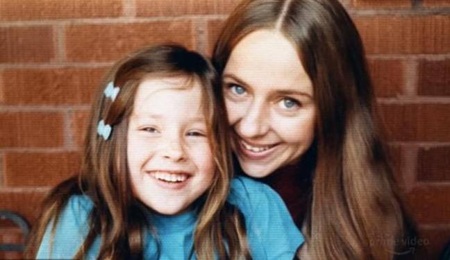 Liz and her daughter Molly lived with Bundy (Credit: Amazon Prime)