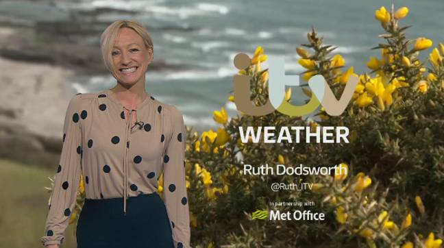 Ruth is known for presenting ITV weather in Wales (Credit: ITV)