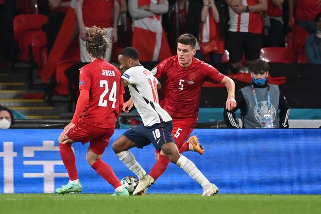 England took on Denmark last week (Credit: PA Images)