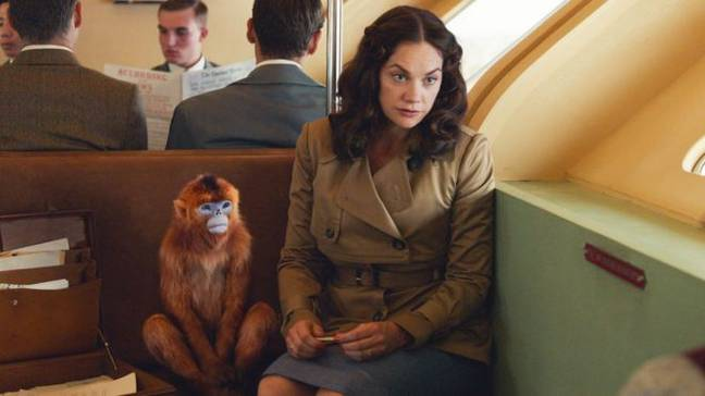 Ruth Wilson stars as the mysterious Mrs Coulter in 'His Dark Materials' (Credit: BBC)