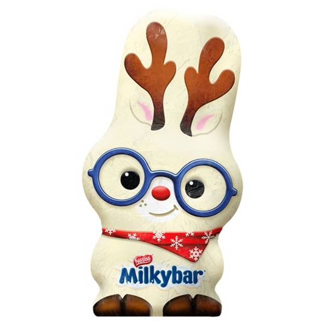This cute Milkybar reindeer is part of the collection (Credit: Nestlé)
