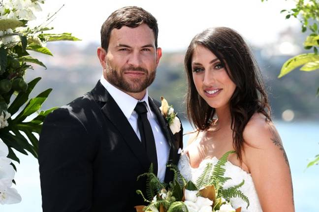 Dan married Tamara on the show (Credit: Channel 4)