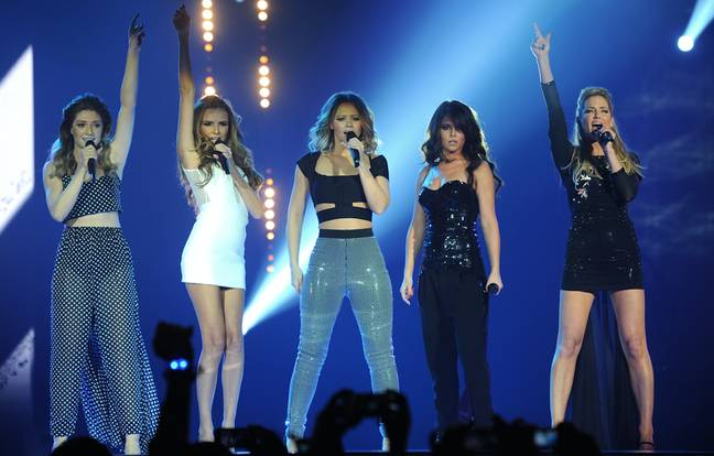 Sarah was one fifth of Girls Aloud (Credit: PA)