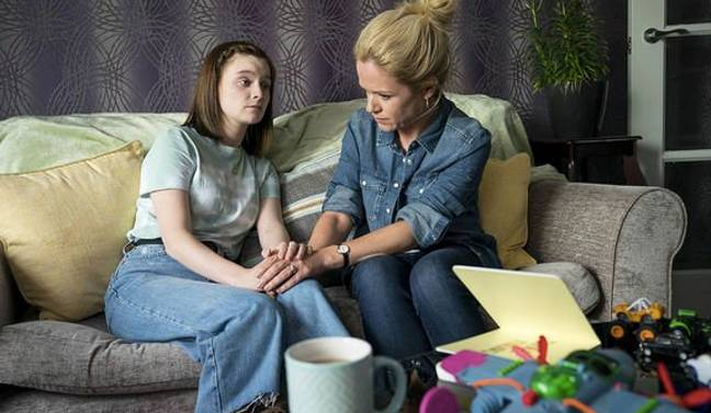 The ending was emotional for Orla and Theresa (Credit: BBC One)