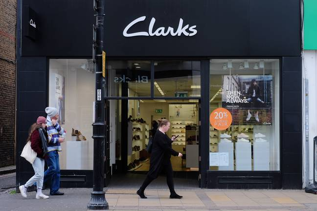 Head to your nearest Clarks to get fitted (Credit: PA)