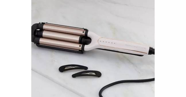 Remington Proluxe 4-in-1 waver Adjustable Waver (Credit: Remington)