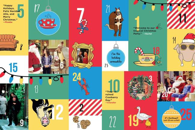 The advent calendar is available to pre-order now (Credit: Amazon)