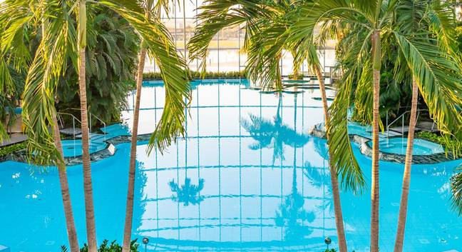 The indoor park will be a tropical paradise (Credit: Therme Manchester)