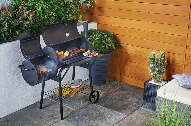 The barbecue is less than £60 (Credit: Aldi)