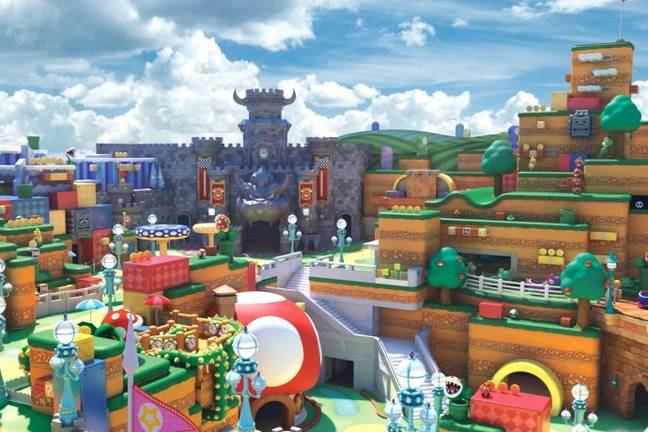 The park will open ahead of the Tokyo Olympic Games (Credit: Universal Studios/Nintendo)