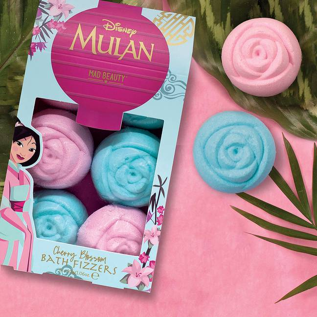 The range includes bath fizzers, priced at £5 (Credit: Superdrug)