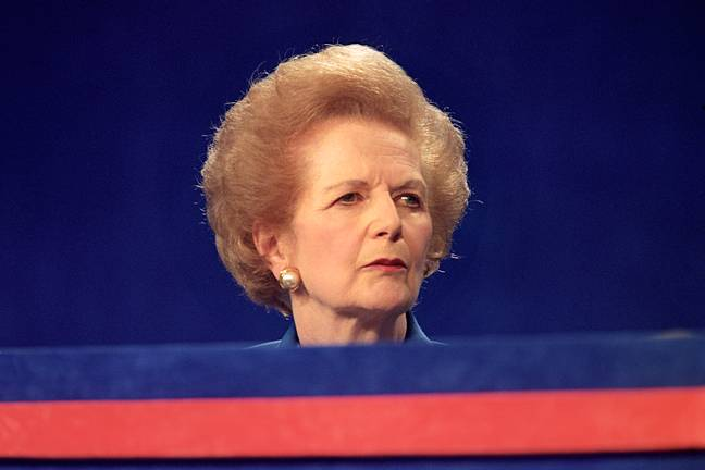 Margaret Thatcher was an incredibly divisive political figure (Credit: Netflix)