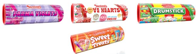 Our favourite retro sweets are back in gift form this Christmas (Credit: Swizzels)