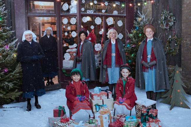 The Christmas special also sees the circus come to town (Credit: BBC)