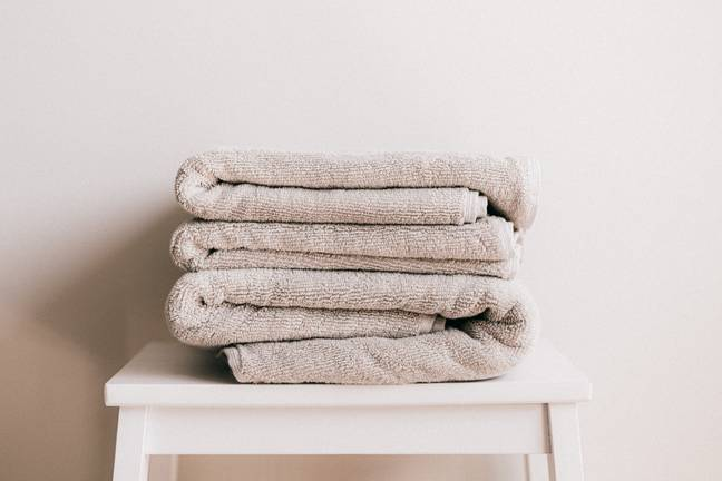 Washing your towels once or twice a week is optimum (Credit: Pexels)