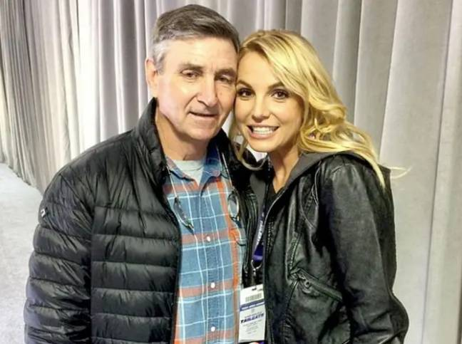 The conservatorship is a cause for contention between Britney and her father (Credit: Instagram: britneyspears)