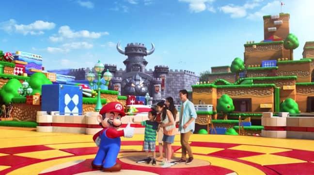 The park will open in Spring 2021 (Credit: Universal Studios/Nintendo)