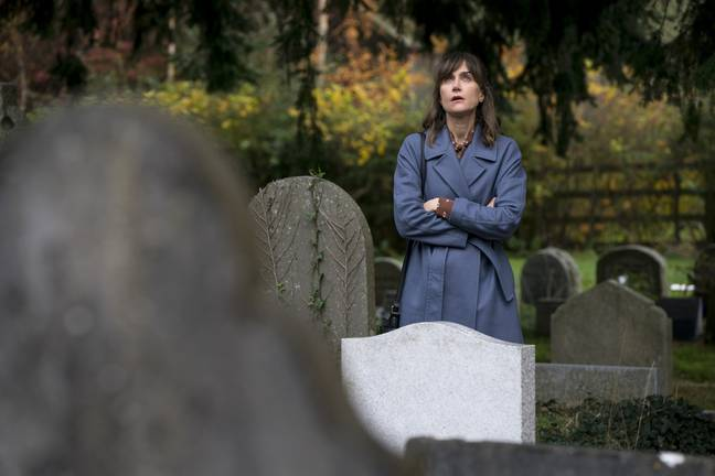 Innocent sees Sally struggle with the accusations and acquittal (Credit: ITV)