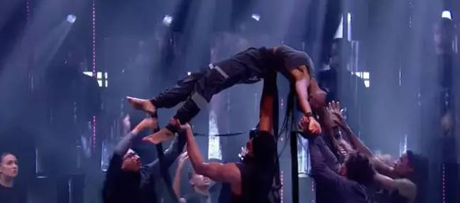 The performance sparked over 1,000 complaints (Credit: ITV)