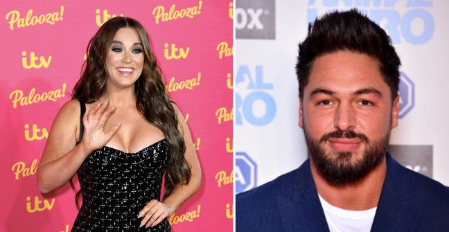 Vicky Pattison and Mario Falcone both help Ovie on the way (Credit: PA)
