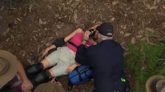 Fans likened the moment to Gillian McKeith's infamous faint (Credit: ITV)
