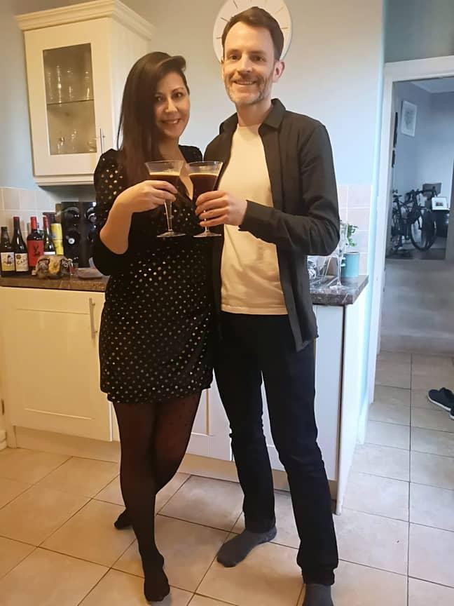 Rebecca soon met Theo while online dating (Credit: Jam Press)