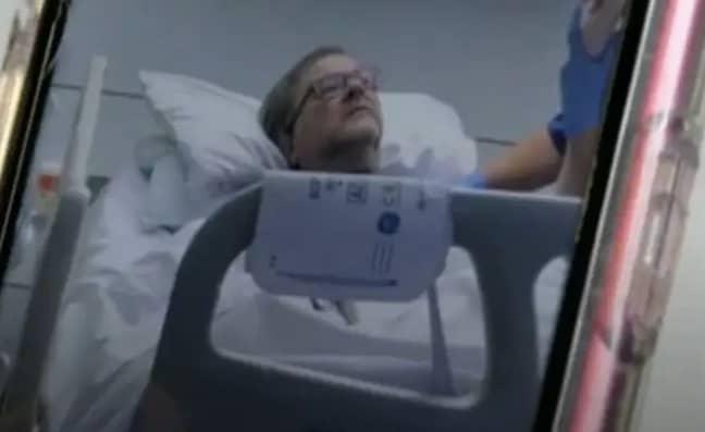 Derek Draper was put in a coma almost a year ago (Credit: ITV)