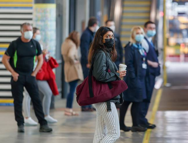 From today, it's compulsory to wear face masks on public transport (Credit: PA)
