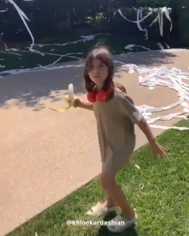 Khloe pulled the ultimate prank on Kourtney (Credit: Kourtney Kardashian/Instagram)