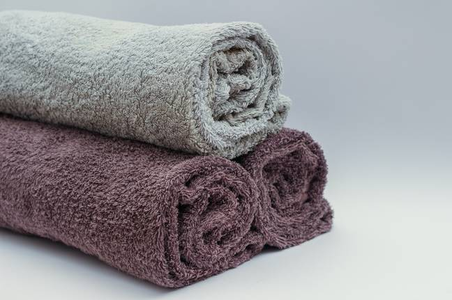 Here's how to keep your towels nice and fresh (Credit: Pexels)