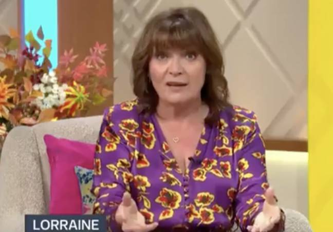 Lorraine has strong views on the restrictions over Christmas (Credit: ITV)