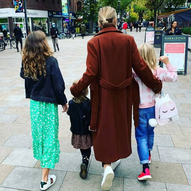Emma and Matt share three children but are famously private about them and have never revealed their faces (Credit: Matt Willis / Instagram)