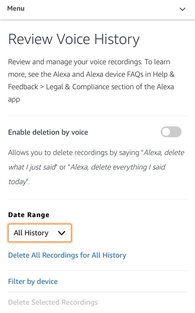 On your Alexa app, navigate to Settings (Credit: Tyla/ Alexa)