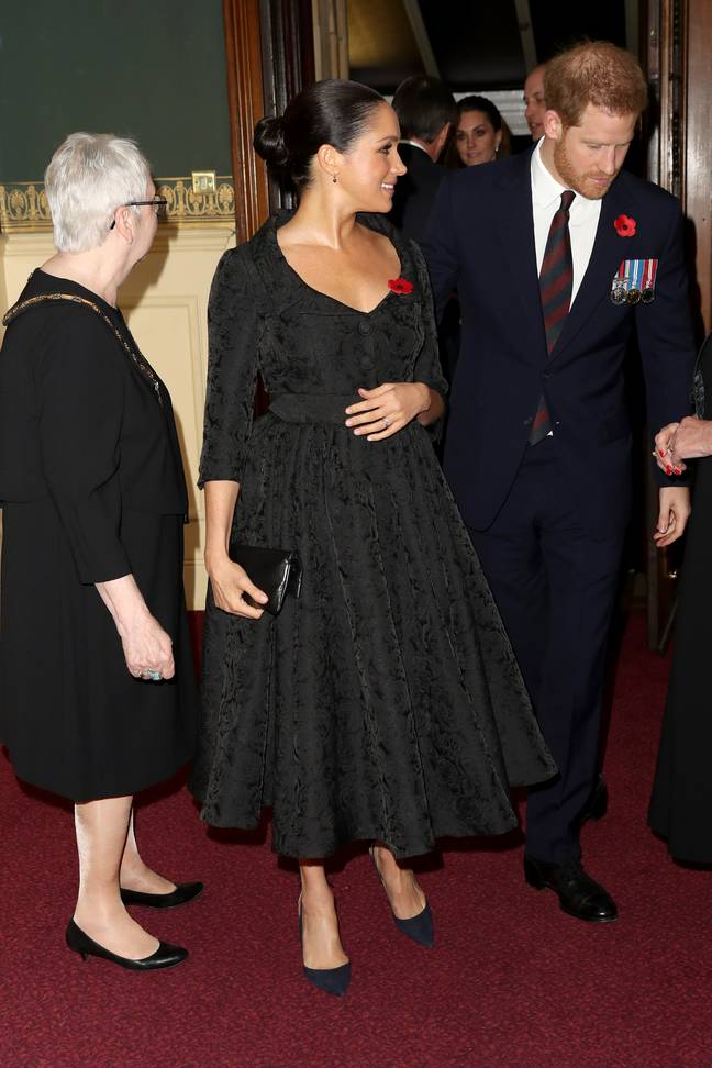 Harry and Meghan pictured in London last year (Credit: PA)